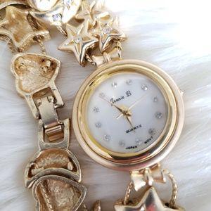 Vintage Jennie B Gold Watch